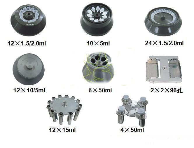 Rotors of centrifuge