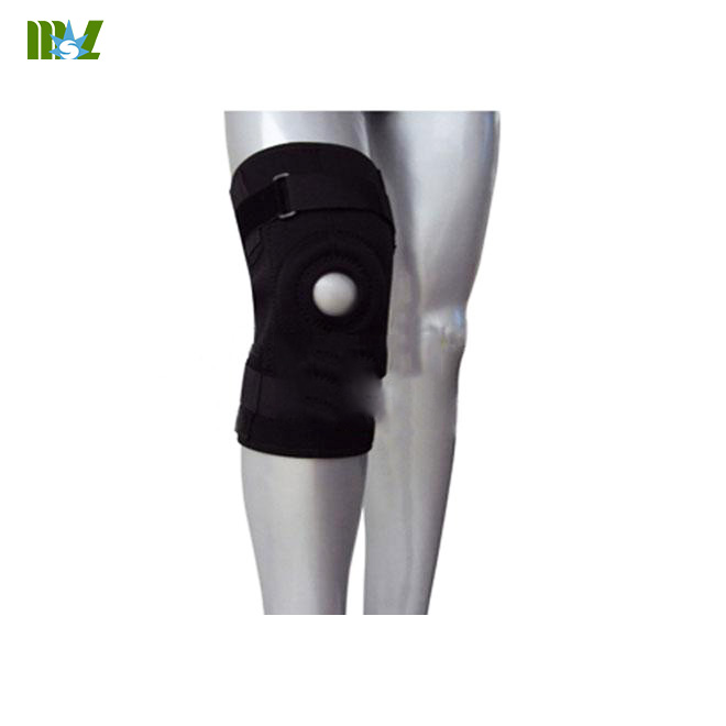 hinged knee pads
