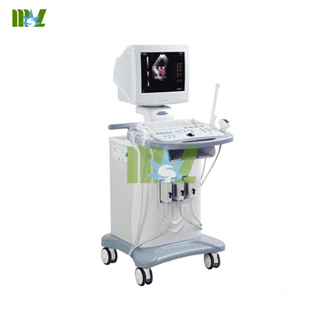 trolley 3D colourful doppler ultrasound scanner
