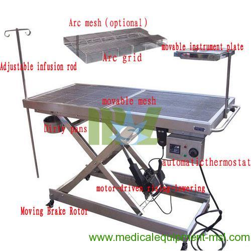animal operation table