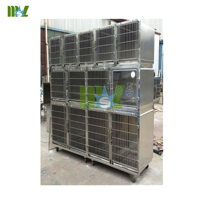 Stainless pet cages