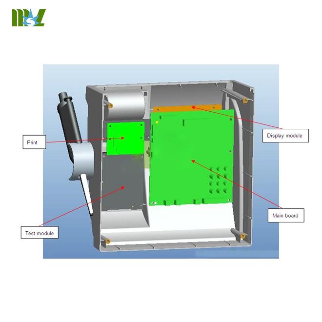 Portable coagulometers-MSLBA12 Block diagram