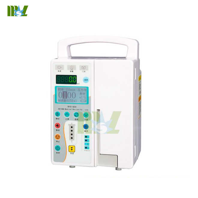 MSL infusion pump standards MSLIS09