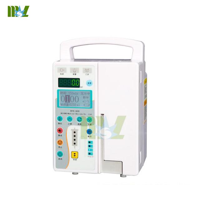 MSL infusion pump standards MSLIS09