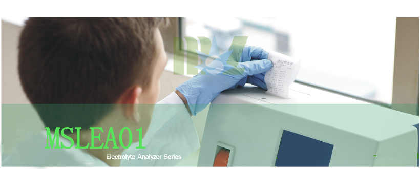 clinic blood gas Electrolyte Analyzer MSLEA01 banner