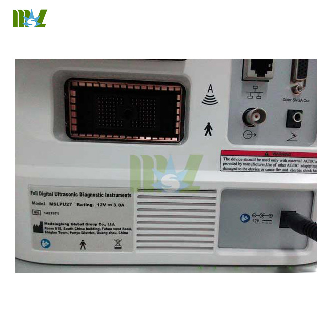 cost of portable usg machine MSLPU27
