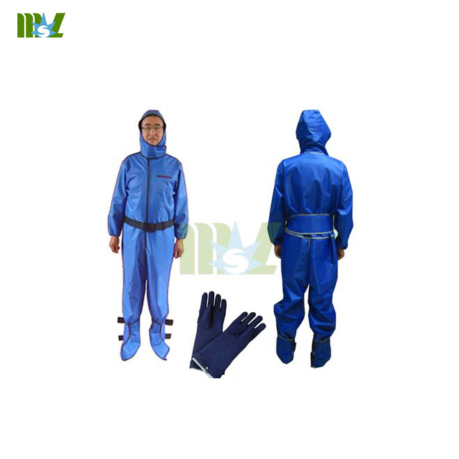 Full body radiation protective suit MSLLS01