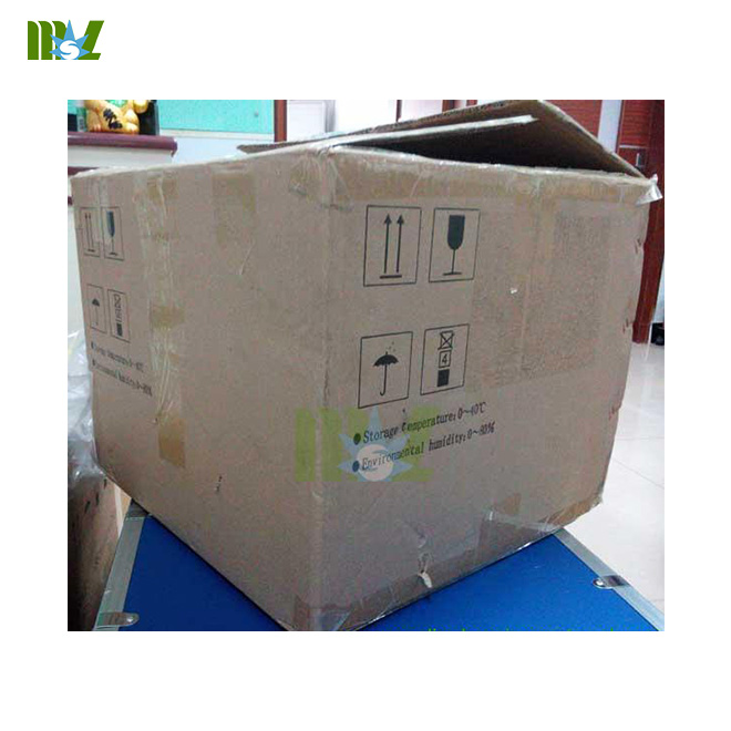 MSL cheap semi automated clinical chenistry analyzers MSLBA09 packaging detailed drawing