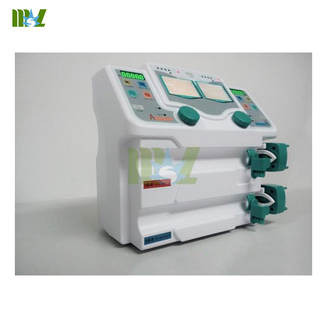 Double channel medical infusion