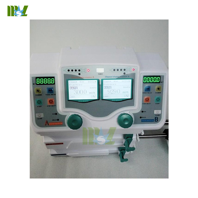 dual channel syringe pump for sale