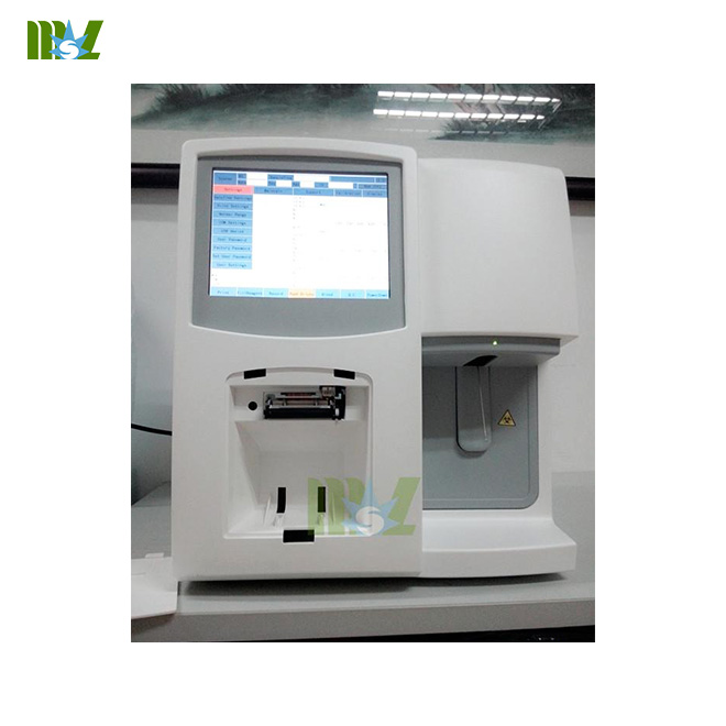 Blood Analyzer MSLAB01 used in Hospital