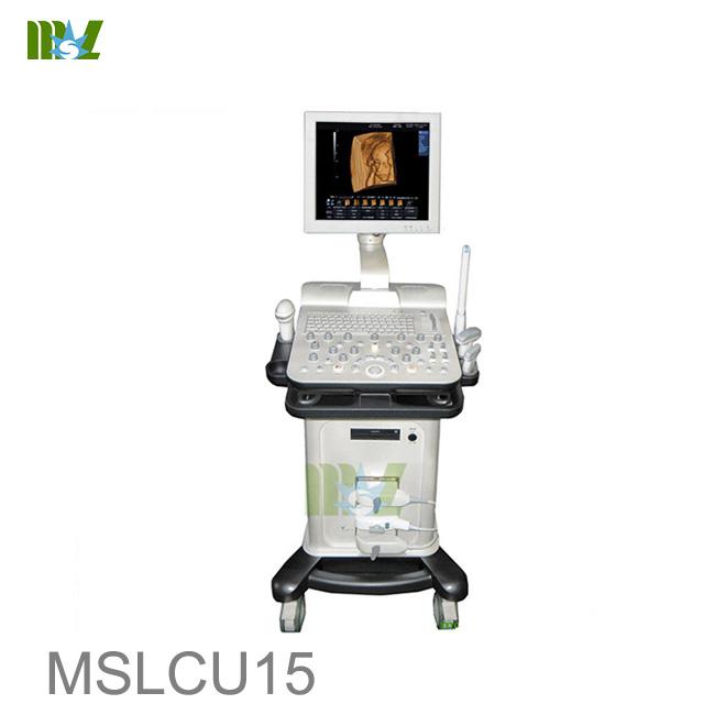 Trolley 4D color doppler Pregnancy ultrasound MSLCU15