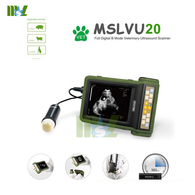MSL veterinary ultrasonic diagnostic instrument