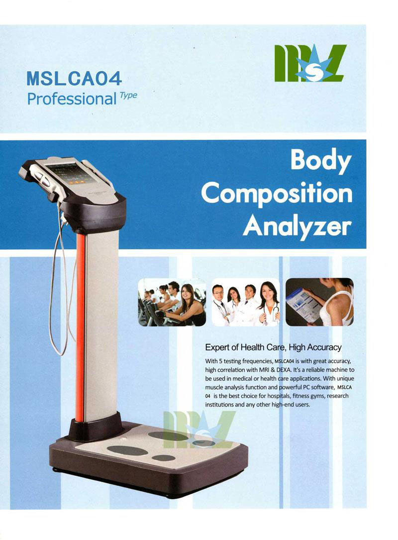 calculate body fat percentage MSLCA04 color page