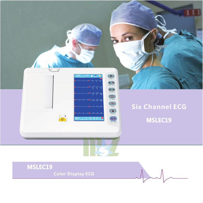 MSL brand new Portable 6-lead ECG recorders MSLEC19