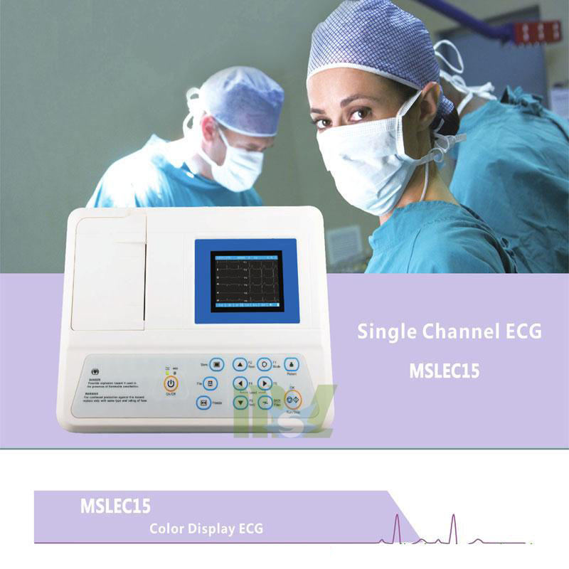1 lead EKG Machines MSLEC15