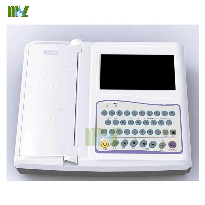 Portable twelve lead ecg MSLEC21 for sale