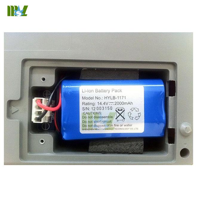 Portable 12-lead ECG recorders MSLEC22 battery
