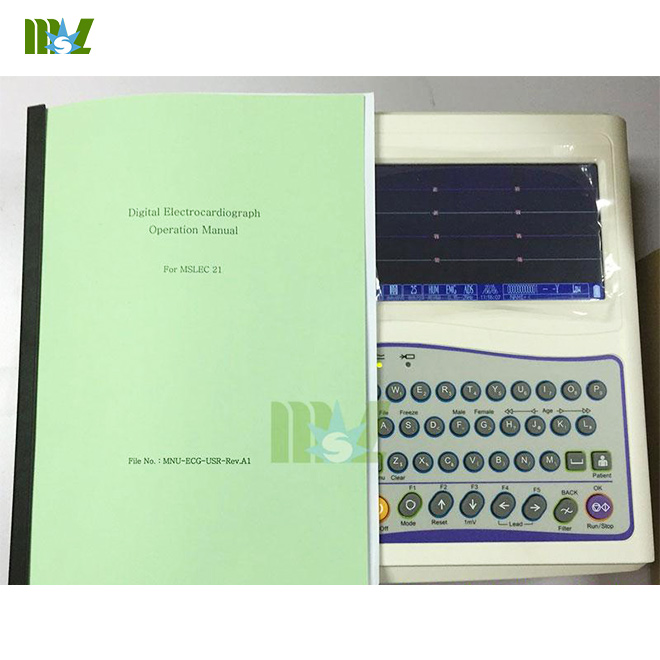 12-lead ECG recorders MSLEC21 supply