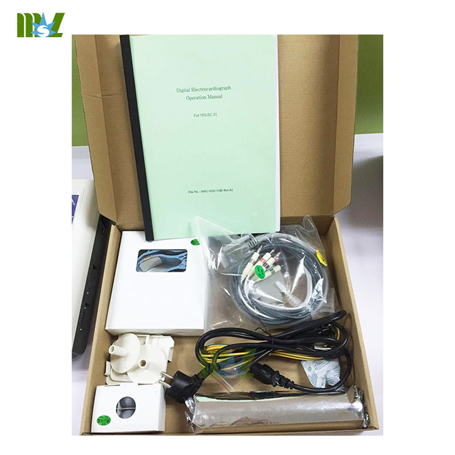 MSL 12-lead ECG recorders package