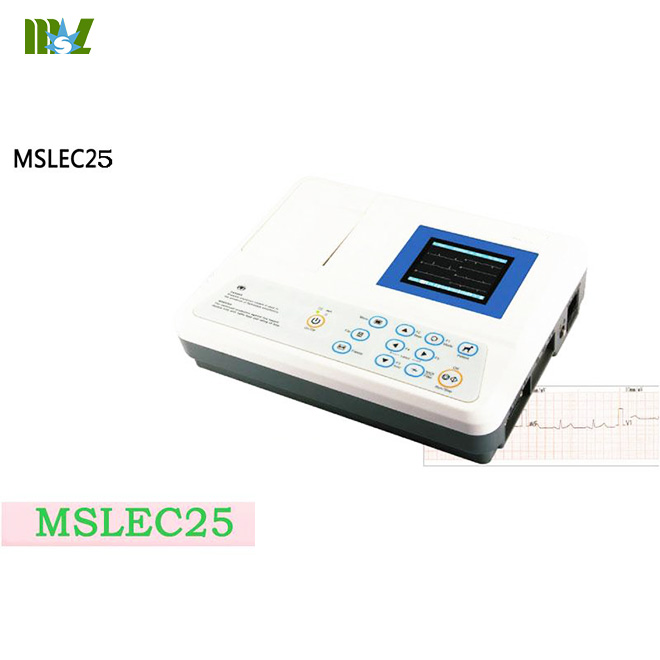 MSL Portable three channel veterinary ecg machine MSLEC25