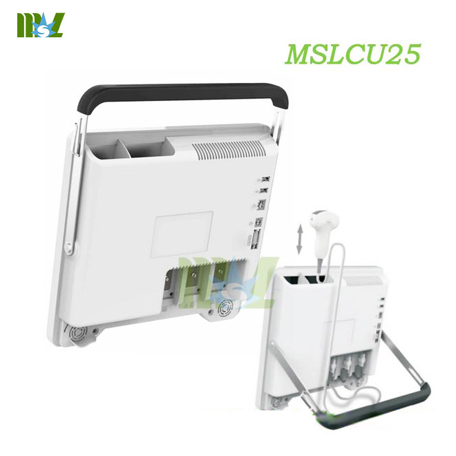 MSL Hot sale protable touch screen color doppler ultrasound MSLCU25