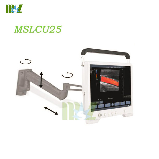 Touch screen color digital ultrasound MSLCU25 for sale