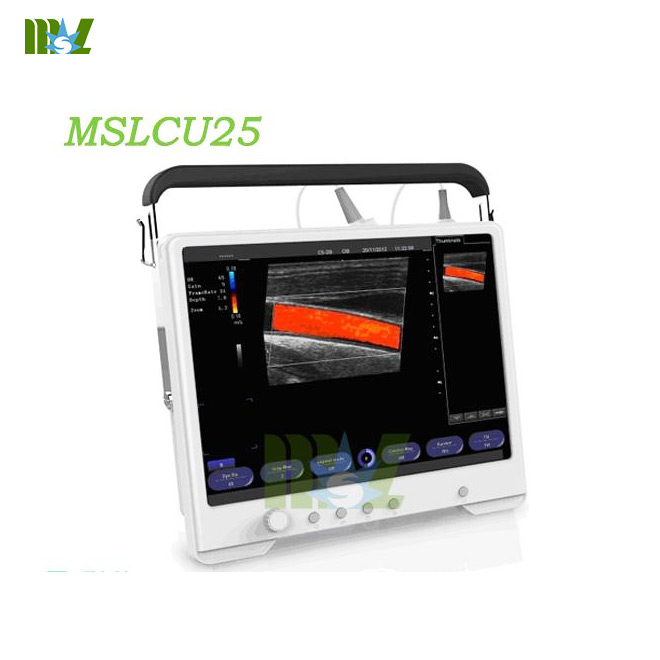 touch screen color doppler ultrasound MSLCU25 for sale