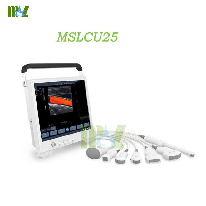 touch screen color doppler ultrasound MSLCU25