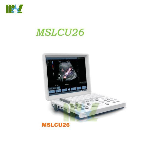 laptop Color Doppler Ultrasound Machine MSLCU26 for sale