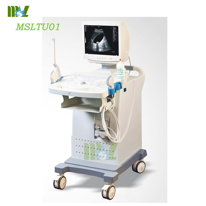 MSL cheap Digital trolley ultrasound scanner MSLTU01