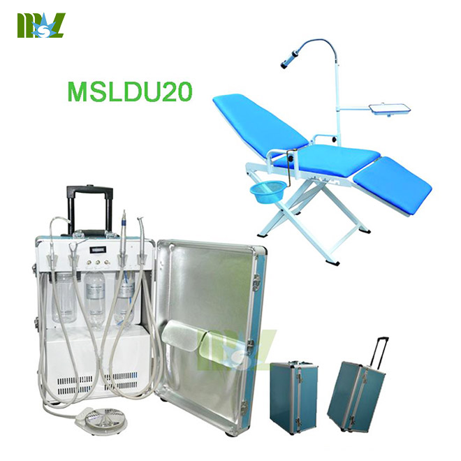 folding portable dental chair MSLDU20