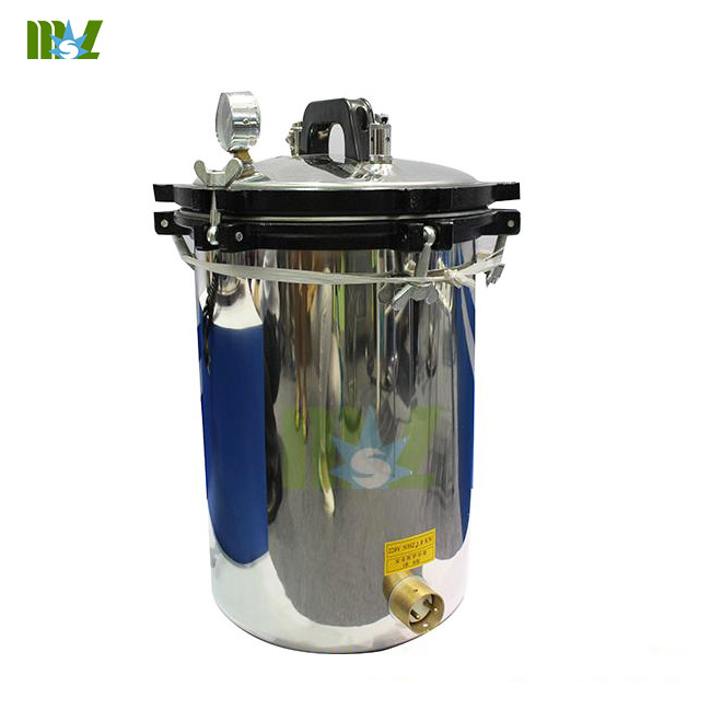 Portable stainless steel steam sterilization equipment