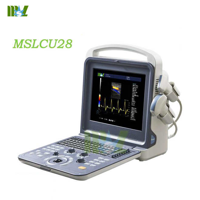 MSLCU28 with linear and convex probe