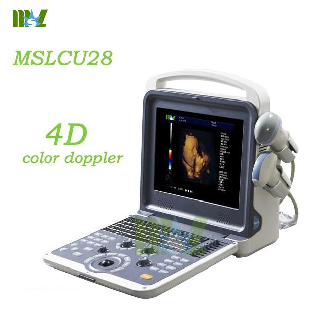 Portable 4d color doppler ultrasound diagnostic imaging MSLCU28