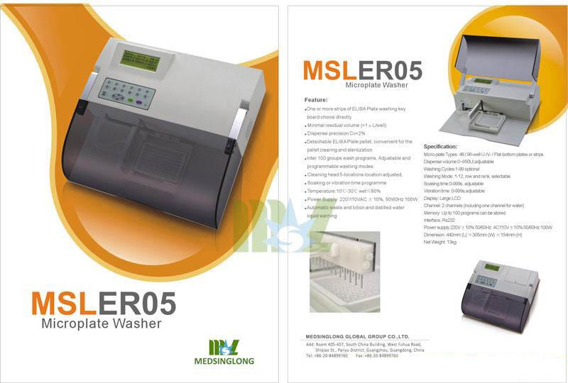 elisa microplate washer equipment MSLER05