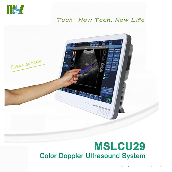 touch screen laptop ultrasound machine MSLCU29 for sale