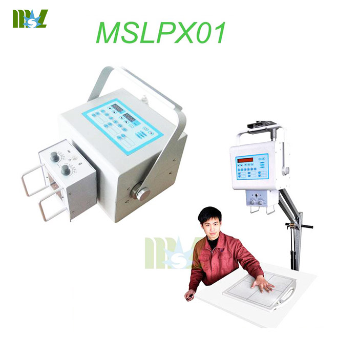 Best Portable medical diagnostic x ray machine MSLPX01 for sale