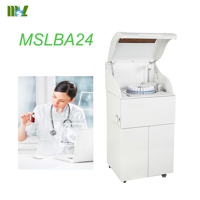 2016 New Full automatic Biochemical Analyzer MSLBA24 for sale