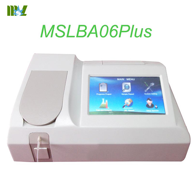 cheapest Semi-automatic chemistry analyzer MSLBA06Plus