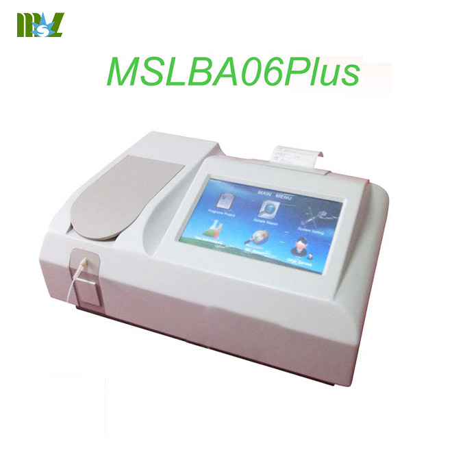 Semi-automatic chemistry analyzer MSLBA06Plus for sale