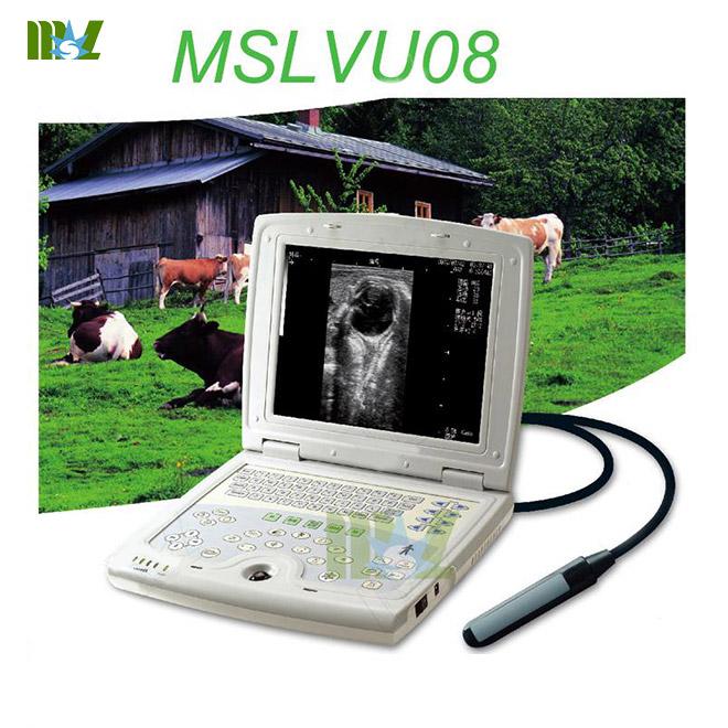 best Portable laptop ultrasound veterinary equipment MSLVU08