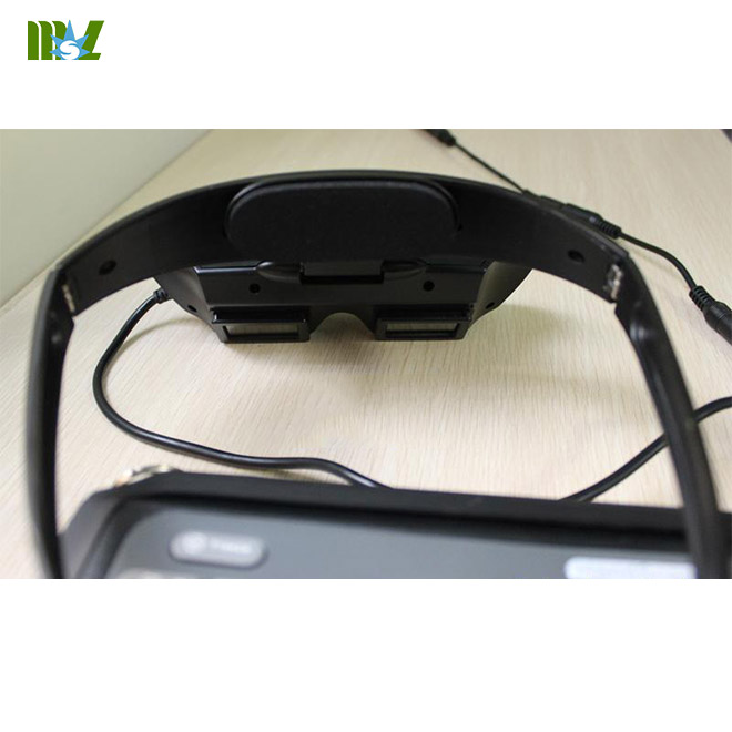 handheld portable Veterinary ultrasound equipment Video Glasses