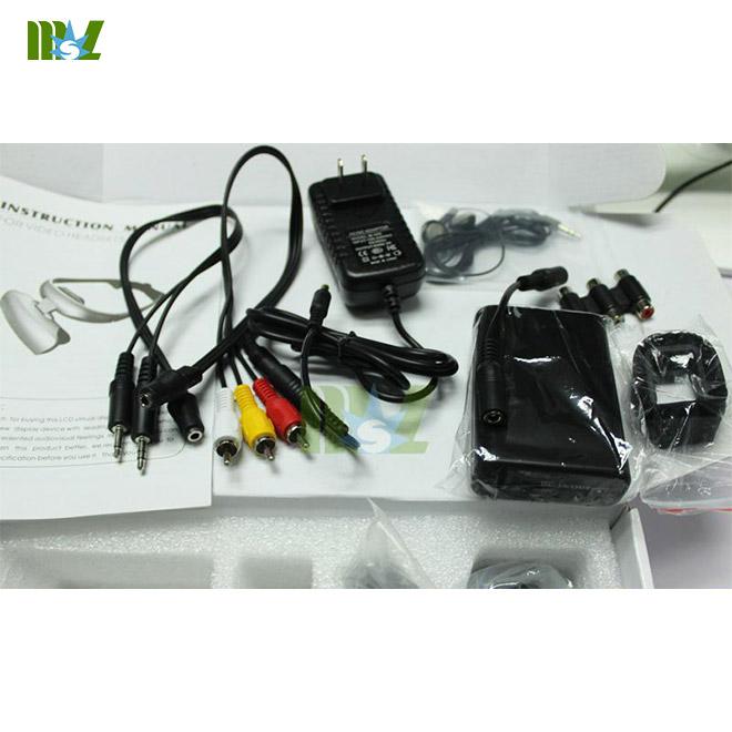MSL portable Veterinary ultrasound equipment Video Glasses