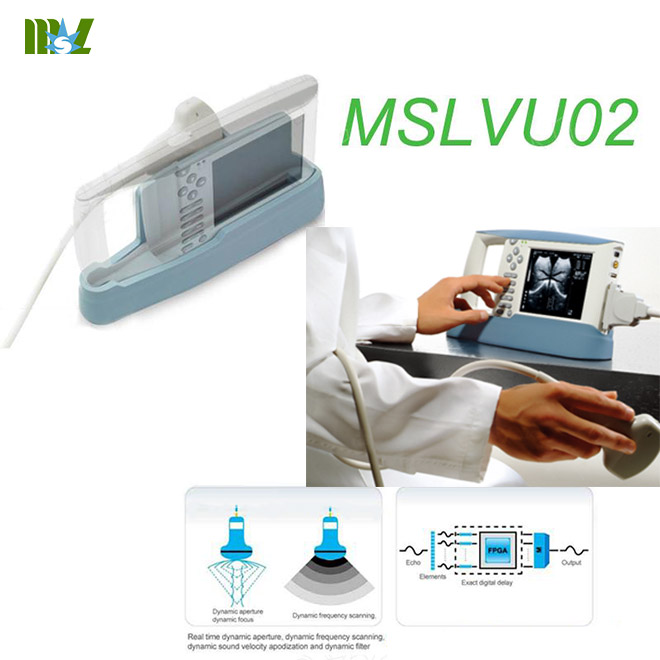 Animal ultrasound machine used in cattle-MSLVU02