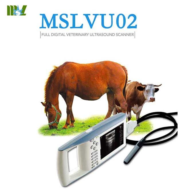 MSL Animal ultrasound machine used in cattle, equine, etc.-MSLVU02