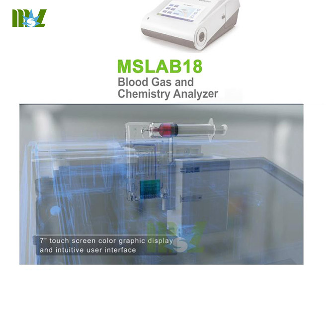 MSL Blood Gas Analyzer MSLAB18