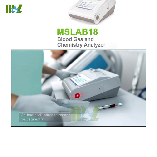 MSL New Blood Gas and Chemistry Analyzer MSLAB18