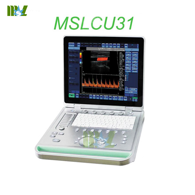 portable color doppler ultrasound MSLCU31 for sale