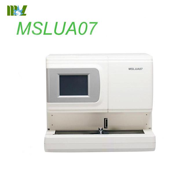 New automated urine analyzer MSLUA07